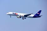 まいけるさんが、スワンナプーム国際空港で撮影したフェデックス・エクスプレス 757-236の航空フォト(写真)