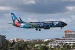 ST8000GTOさんが、プリンセス・ジュリアナ国際空港で撮影したウェストジェット 737-8CTの航空フォト(写真)
