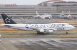 べガスさんが、羽田空港で撮影したタイ国際航空 747-4D7の航空フォト(写真)