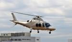 ヘリオスさんが、東京ヘリポートで撮影した法人所有 AW109SPの航空フォト(写真)