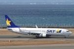 camelliaさんが、中部国際空港で撮影したスカイマーク 737-8FZの航空フォト(写真)