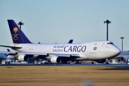 パンダさんが、成田国際空港で撮影したサウディア 747-412F/SCDの航空フォト(写真)