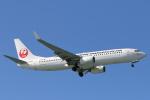 安芸あすかさんが、那覇空港で撮影した日本トランスオーシャン航空 737-8Q3の航空フォト(写真)