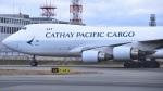 スピードバードさんが、関西国際空港で撮影したキャセイパシフィック航空 747-467F/ER/SCDの航空フォト(写真)