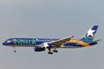 菊池 正人さんが、ロサンゼルス国際空港で撮影したアメリカウエスト航空 757-225の航空フォト(写真)