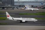 ハピネスさんが、羽田空港で撮影した日本航空 737-846の航空フォト(写真)