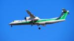 HSUANYIN041さんが、伊丹空港で撮影したANAウイングス DHC-8-402Q Dash 8の航空フォト(写真)