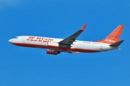 nh747dさんが、成田国際空港で撮影したチェジュ航空 737-8ASの航空フォト(写真)