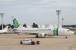 安芸あすかさんが、パリ オルリー空港で撮影したトランサヴィア 737-8K2の航空フォト(写真)