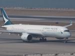 ken1☆MYJさんが、香港国際空港で撮影したキャセイパシフィック航空 A350-941XWBの航空フォト(写真)