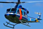 チャーリーマイクさんが、立川飛行場で撮影した警視庁 412EPの航空フォト(写真)