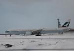 くーぺいさんが、新千歳空港で撮影したキャセイパシフィック航空 777-367/ERの航空フォト(写真)