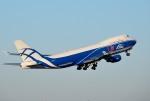 mojioさんが、成田国際空港で撮影したエアブリッジ・カーゴ・エアラインズ 747-4KZF/SCDの航空フォト(写真)