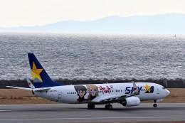 JA946さんが、神戸空港で撮影したスカイマーク 737-86Nの航空フォト(写真)