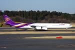 PASSENGERさんが、成田国際空港で撮影したタイ国際航空 A340-642の航空フォト(写真)
