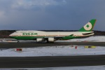 kikiさんが、新千歳空港で撮影したエバー航空 747-45Eの航空フォト(写真)