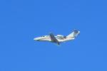 tecasoさんが、大塚山古墳で撮影したコーナン商事 525A Citation CJ1の航空フォト(写真)
