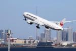 中年親父さんが、羽田空港で撮影した日本航空 777-346/ERの航空フォト(写真)