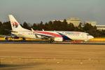 ポン太さんが、成田国際空港で撮影したマレーシア航空 737-8H6の航空フォト(写真)