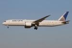 たみぃさんが、成田国際空港で撮影したユナイテッド航空 787-9の航空フォト(写真)