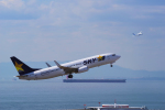 yabyanさんが、中部国際空港で撮影したスカイマーク 737-8FZの航空フォト(写真)