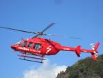 kamonhasiさんが、静岡ヘリポートで撮影したジャネット 407の航空フォト(写真)