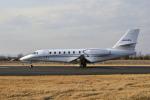 Gambardierさんが、岡南飛行場で撮影したノエビア 680 Citation Sovereignの航空フォト(写真)