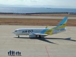猛虎ファンさんが、神戸空港で撮影したAIR DO 737-781の航空フォト(写真)
