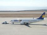 猛虎ファンさんが、神戸空港で撮影したスカイマーク 737-86Nの航空フォト(写真)