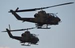 ヨッちゃんさんが、木更津飛行場で撮影した陸上自衛隊 AH-1Sの航空フォト(写真)
