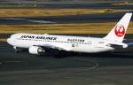 DVDさんが、羽田空港で撮影した日本航空 767-346の航空フォト(写真)