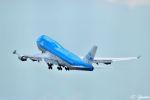 吉田高士さんが、成田国際空港で撮影したKLMオランダ航空 747-406Mの航空フォト(写真)