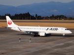 51ANさんが、鹿児島空港で撮影したジェイ・エア ERJ-190-100(ERJ-190STD)の航空フォト(写真)