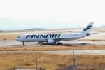 ガス屋のヨッシーさんが、関西国際空港で撮影したフィンエアー A330-302Xの航空フォト(写真)