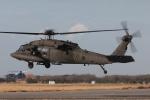 木人さんが、木更津飛行場で撮影したアメリカ陸軍 UH-60L Black Hawk (S-70A)の航空フォト(写真)
