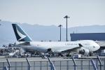 kurubouzuさんが、関西国際空港で撮影したキャセイパシフィック航空 747-467F/ER/SCDの航空フォト(写真)