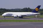 PASSENGERさんが、成田国際空港で撮影したルフトハンザドイツ航空 A380-841の航空フォト(写真)