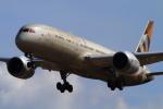 武彩航空公司(むさいえあ)さんが、成田国際空港で撮影したエティハド航空 787-9の航空フォト(写真)