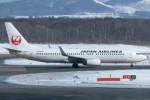 SFJ_capさんが、新千歳空港で撮影した日本航空 737-846の航空フォト(写真)