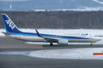 SFJ_capさんが、新千歳空港で撮影した全日空 737-881の航空フォト(写真)