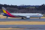 PASSENGERさんが、成田国際空港で撮影したアシアナ航空 767-38Eの航空フォト(写真)