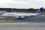 PASSENGERさんが、成田国際空港で撮影したユナイテッド航空 747-422の航空フォト(写真)