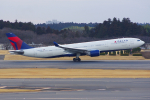 PASSENGERさんが、成田国際空港で撮影したデルタ航空 A330-323Xの航空フォト(写真)