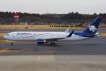 PASSENGERさんが、成田国際空港で撮影したアエロメヒコ航空 767-3Y0/ERの航空フォト(写真)