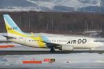 SFJ_capさんが、新千歳空港で撮影したAIR DO 737-781の航空フォト(写真)