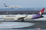 SFJ_capさんが、新千歳空港で撮影したハワイアン航空 767-33A/ERの航空フォト(写真)