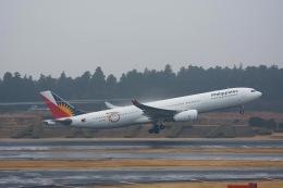 Triton-Blueさんが、成田国際空港で撮影したフィリピン航空 A330-343Eの航空フォト(写真)