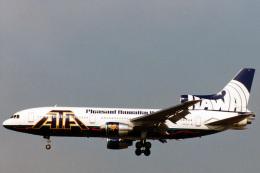 菊池 正人さんが、ロサンゼルス国際空港で撮影したATA航空 L-1011-385-3 TriStar 500の航空フォト(写真)