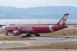 SFJ_capさんが、関西国際空港で撮影したエアアジア・エックス A330-343Xの航空フォト(写真)