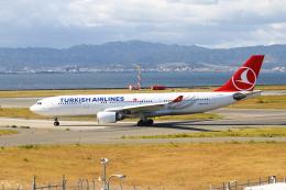 ガス屋のヨッシーさんが、関西国際空港で撮影したターキッシュ・エアラインズ A330-203の航空フォト(写真)